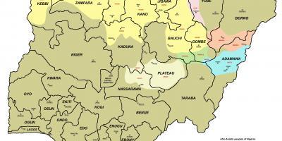 Nigeri Harta Harta Nigeri Afrika Perendimore Afrike